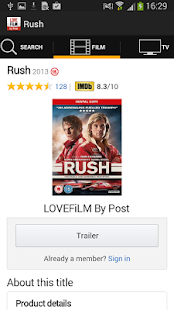 LOVEFiLM By Post- screenshot thumbnail