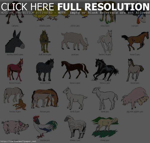 Draw Farm Animals For Kids