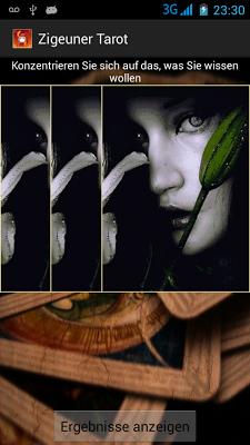 Zigeuner Tarot - screenshot