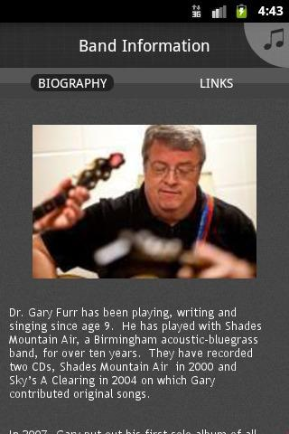 Dr. Gary Allison Furr - screenshot