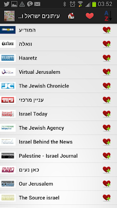 イスラエルの新聞とニュースのおすすめ画像2