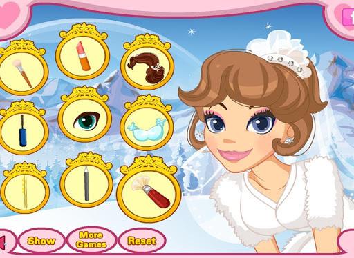 玩免費家庭片APP|下載冬季仙境婚禮化妝雪,化妝,婚紗禮服和珠寶 app不用錢|硬是要APP