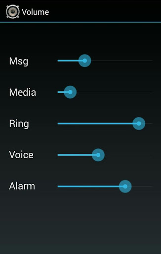 Volume Control Android 3.1+