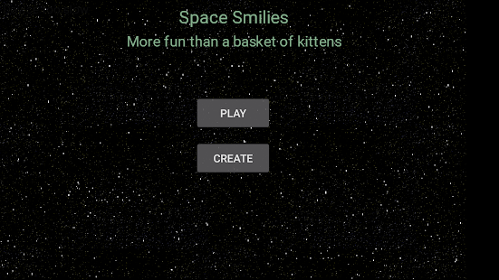 Space Smilies: Space Invaders- screenshot thumbnail