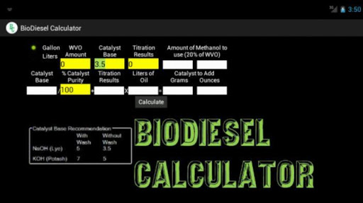 BioDiesel Calculator 2.0 Paid