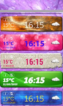 Clock And Weather Widget