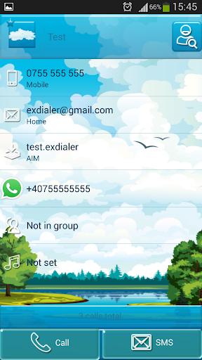玩個人化App|ExDialerブルー免費|APP試玩