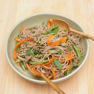 Soba Noodles with Vegetables and Mint