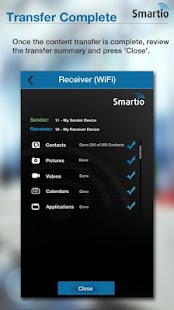 SmartIO - Transfer Content- screenshot thumbnail
