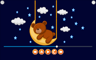 Screenshot of Lullabies Relax & Sleep Baby