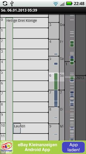 Calendar Timeline