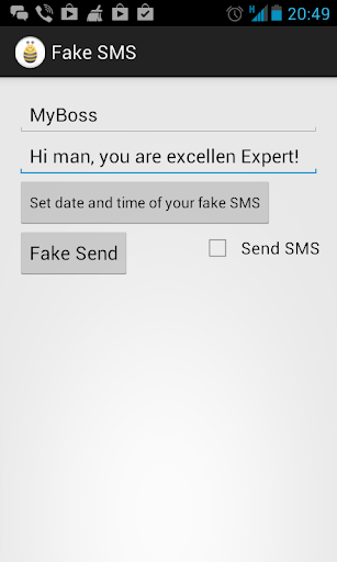 Fake SMS