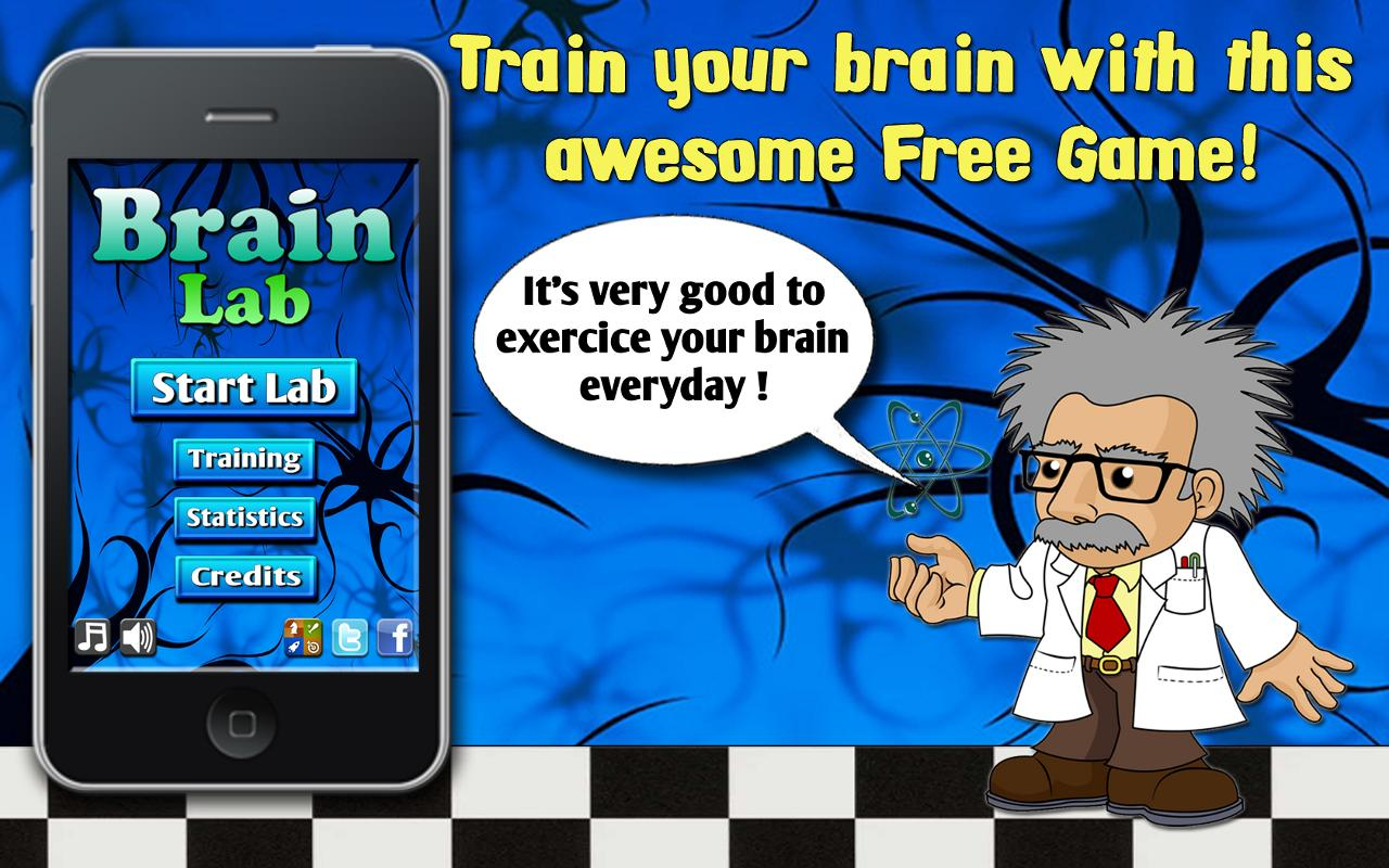 Brain lab - brain age games IQ - screenshot