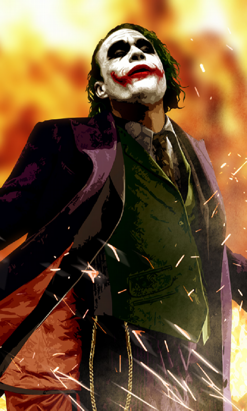 Joker Live Wallpaper - screenshot