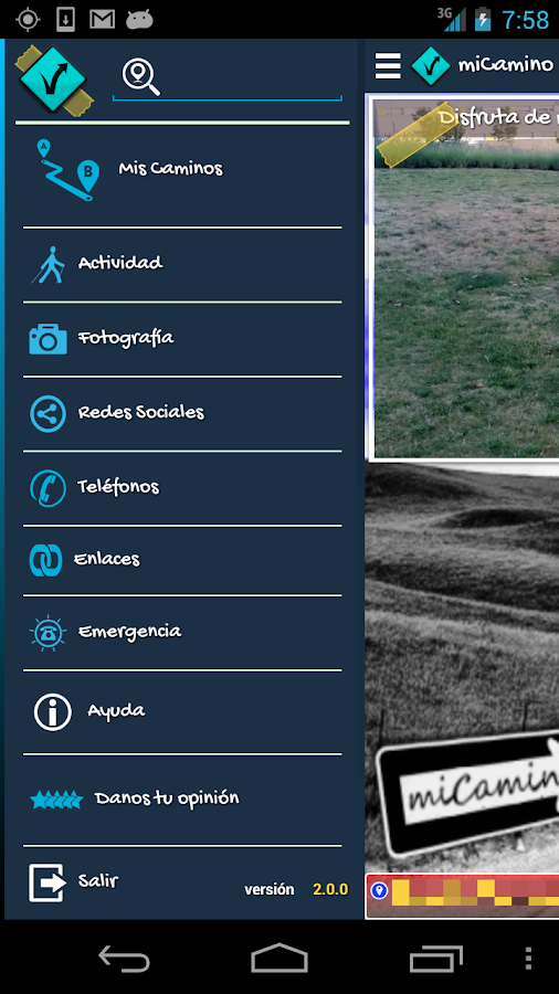 Camino de Santiago mon mobile - screenshot