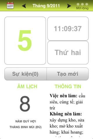 Lịch Vạn Niên - Tử Vi (3.0) - screenshot