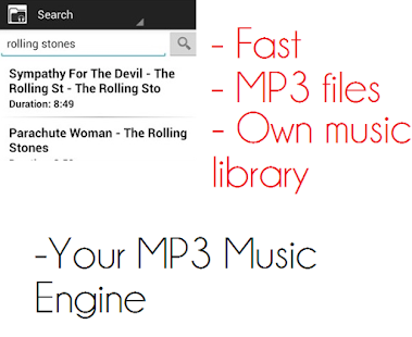 Your MP3 Music Engine - screenshot thumbnail
