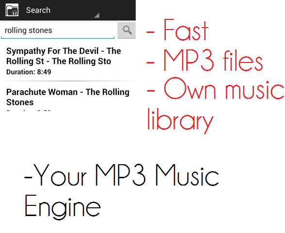 Your MP3 Music Engine - screenshot