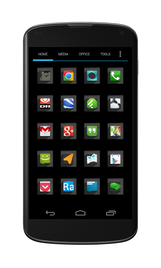 Retroes icon theme - screenshot