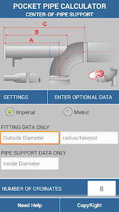 Pipe Support Calculator- screenshot thumbnail