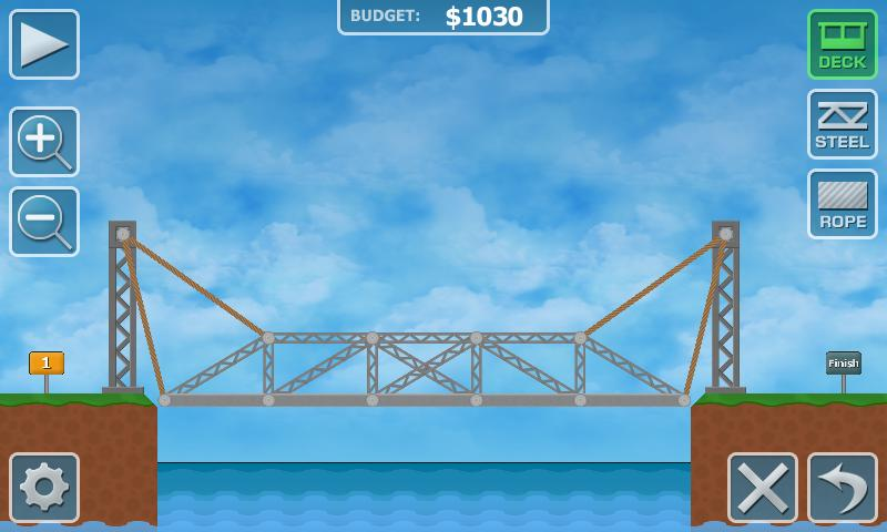 bridge building games