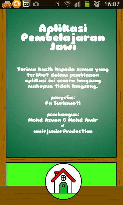 Jom Jawi- screenshot