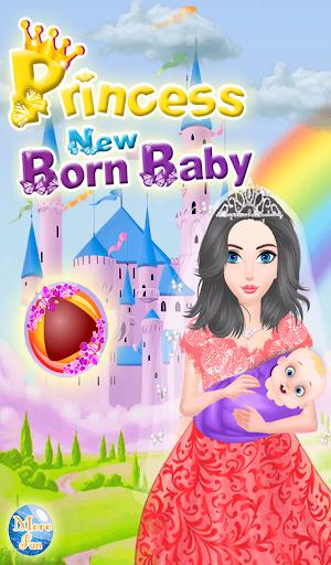 公主出生的女孩游戏