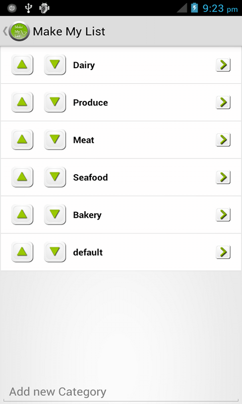 Make My List: To Do/Grocery - screenshot
