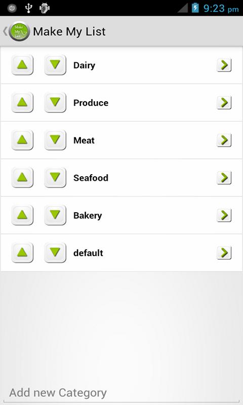 Make My List: To Do/Grocery - screenshot