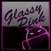 GOKeyboard Theme Glassy Pink