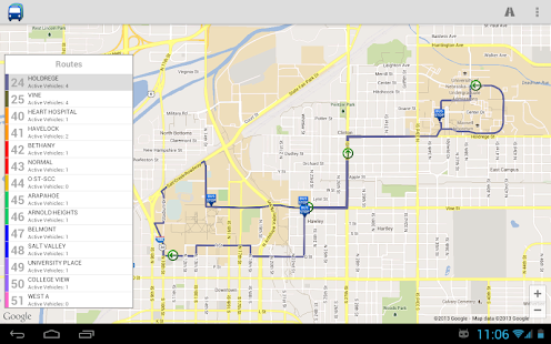 StarTran Bus Tracker- screenshot thumbnail