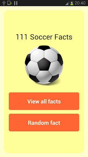 111 Soccer facts