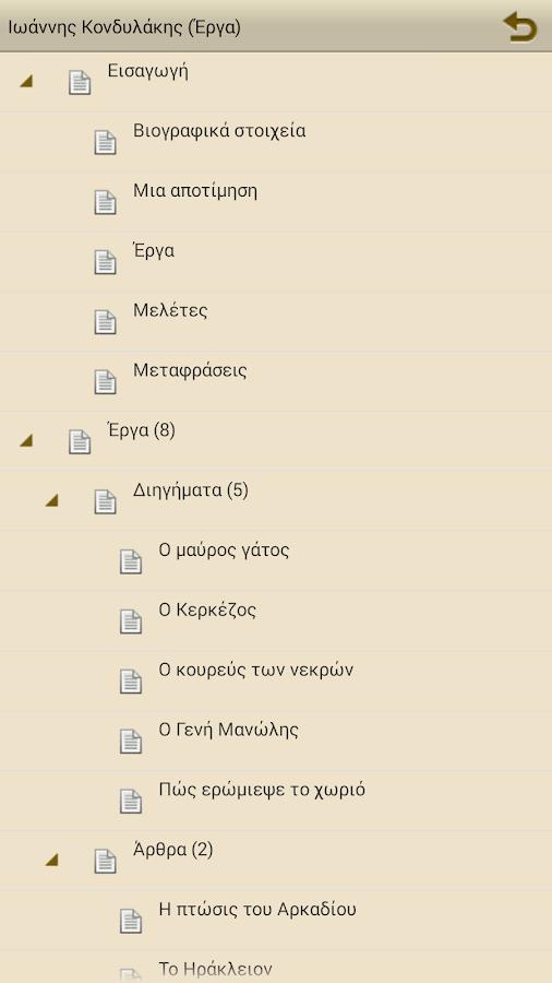 Ιωάννης Κονδυλάκης (Έργα) - screenshot
