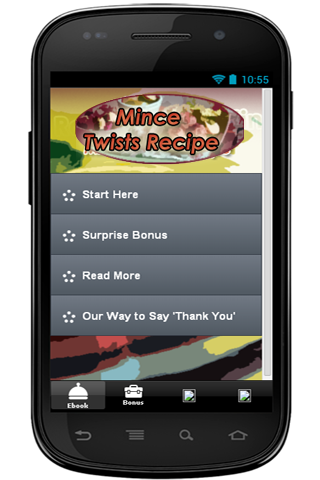 Mince Twists Recipe