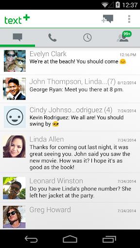 textPlus 무료 문자 + 통화