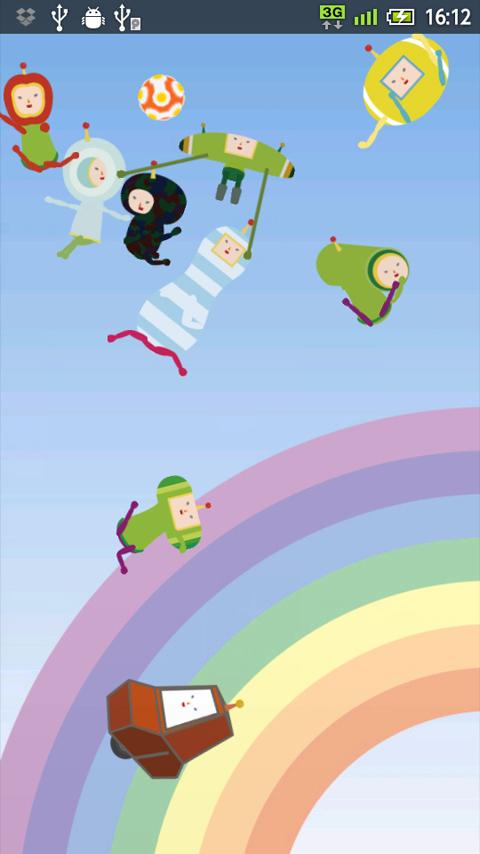 Katamari Bouncy Live Wallpaper - screenshot