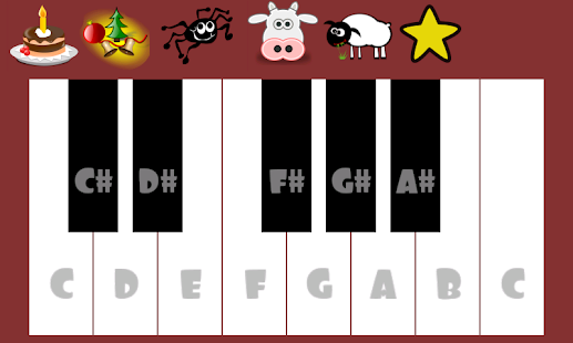 Cute Piano Free- screenshot thumbnail