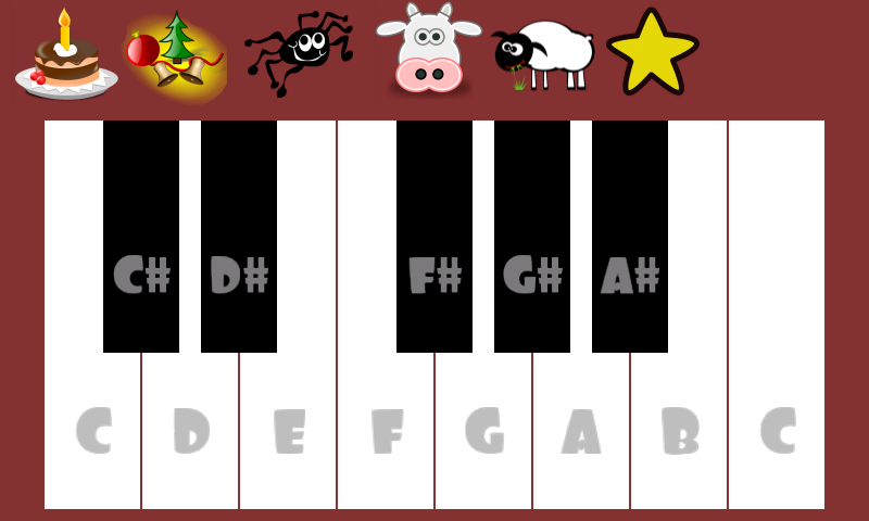 Cute Piano Free- screenshot