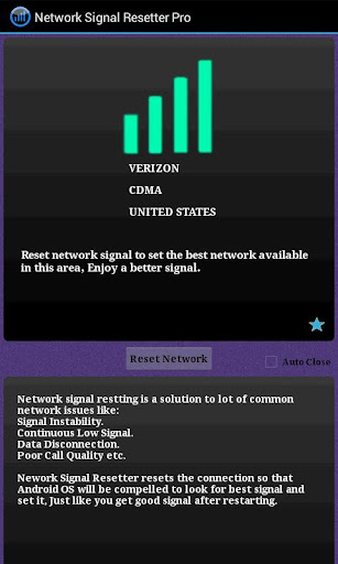 Network Signal Resetter