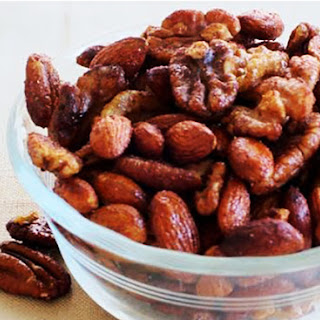 Slow Cooker Cinnamon & Honey Nuts