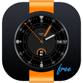 Orange Point Free Watch Face