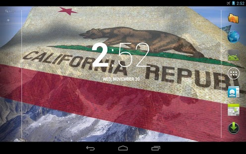 California Flag LWP + - screenshot thumbnail