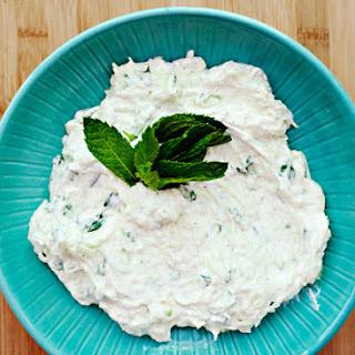 Yogurt Herb Dipping Sauce.