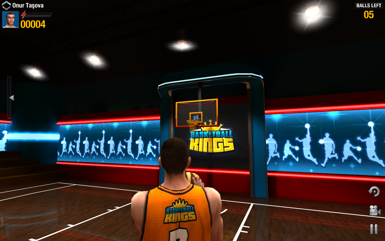 Screenshots of Basketball Kings: Multiplayer for iPhone
