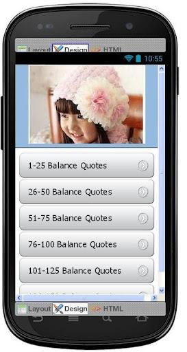Best Balance Quotes