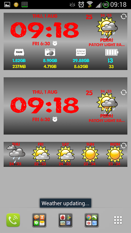 C Widget Free - screenshot