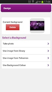 Telnames Mobile Site Builder - screenshot thumbnail