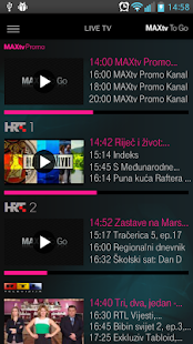 MAXtv To Go HD- screenshot thumbnail