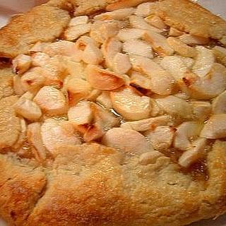 Apple and Calvados Tart