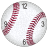 Baseball Clock Widget 2x2 icon